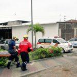 ECU 911 Babahoyo e instituciones articuladas participaron en simulacro por amenaza de incendio